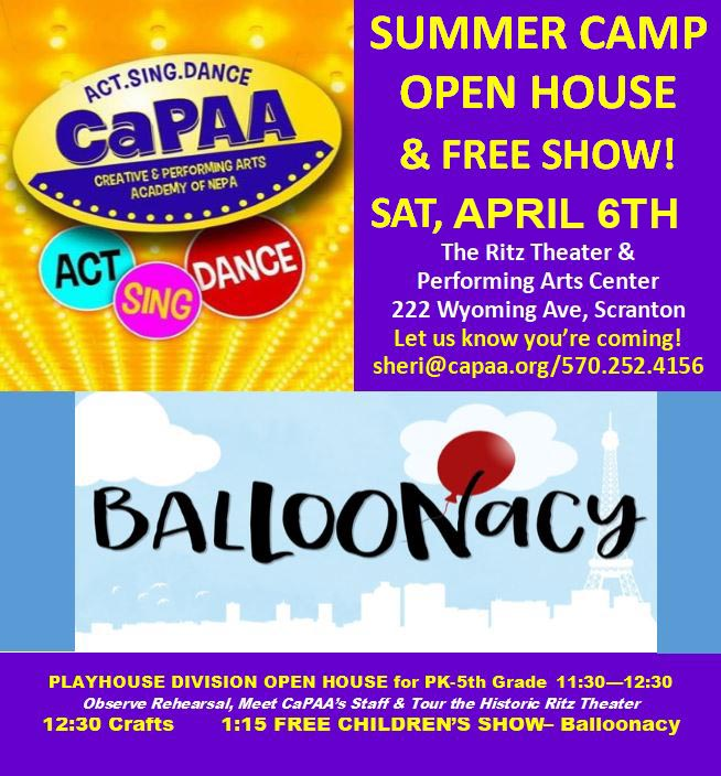 Events for April 6, 2019 – The Creative and Performing Arts